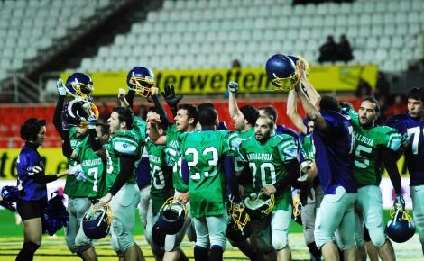Los Linces salieron ovacionados del terreno de juego del Sánchez Pizjuán ©Quico Pérez-Ventana